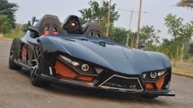 Ini Dia, Mobil Besutan Mahasiswa ITS Sebagai Penantang Mobil Batman
