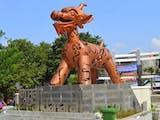 Makhluk ini Jadi Simbol Persatuan Tiga Etnis Besar di Semarang