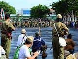 Peringatan Hari Pahlawan 2017 di Kota Kenangan, Surabaya