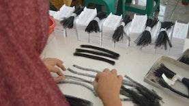 Rambut dan Bulu Mata Palsu Purbalingga yang Mendunia