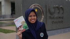 """""""Lala & Lilo"""" Buku Cerita Berbunyi Karya Mahasiswa UM"""