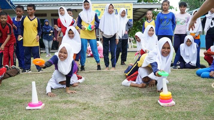 Sociopreneur Indonesia Asah Empati melalui Empathy Project 2018 di desa Sembulang, Batam