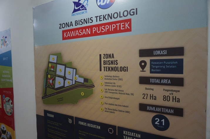TBIC Puspiptek, Wadah Anak Bangsa Kembangkan Inovasi Wirausaha Berbasis Teknologi