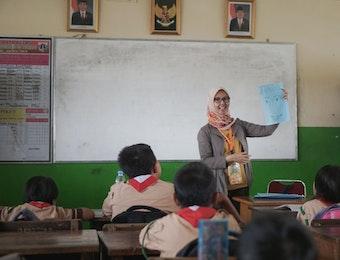 Momentum Hari Pramuka, 938 Relawan Kelas Inspirasi Jakarta Berbagi tentang Profesi