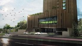 Anyaman Khas Indonesia dalam Arsitektur, Mengglobal di Tangan Lim Masulin