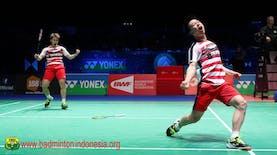 Pertahankan Gelar di All England, Ganda Putra Indonesia Raih Rekor Dunia