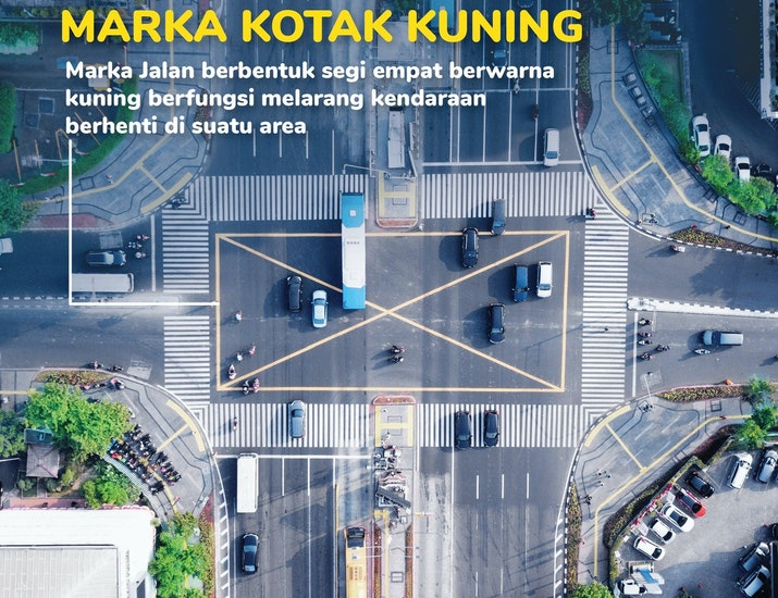Langgar Yellow Box Junction Bisa Kena Tilang, Lho!