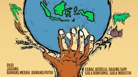 Tahun 2045, Wujudkan Indonesia  Menjadi Lumbung Pangan Dunia