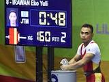 Gambar sampul PON XIX JAWA BARAT : Eko Yuli, Persembahkan Medali Emas Juga Rekor Baru