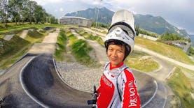 Berkenalan dengan Arek Malang yang Menjadi Ratu BMX ASEAN