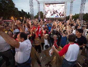 Dwiki Dharmawan Tampil Memukau di Festival Indonesia, Baku
