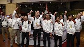 Kalahkan 19 Negara, Para Lulusan SMK Ini Bawa Pulang 9 Medali Word Skills Asia 2018