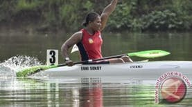PON XIX JAWA BARAT : Lagi, Medali Emas Untuk Papua dari Erni Sokoy