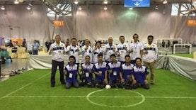 EROS: Robot Sepak Bola PENS yang Mewakili Indonesia di Tiongkok