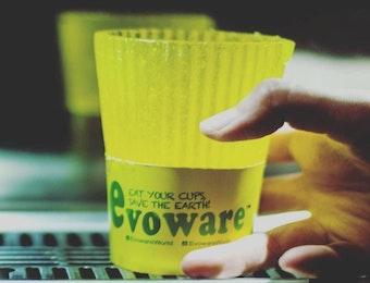 Evoware, Gelas Plastik Buatan Anak Bangsa yang Bisa Dimakan