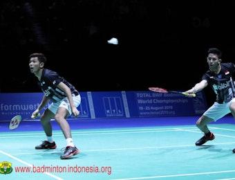 Fajar/Rian Gapai Mahkota Juara Swiss Open 2019