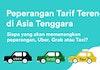 Perang Harga Uber, Grab & Taxi di Indonesia