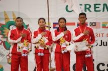 Perolehan Medali Sementara ASEAN School Games 2019