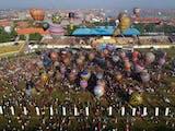 Gambar sampul Balon Udara Batik di Kota Batik