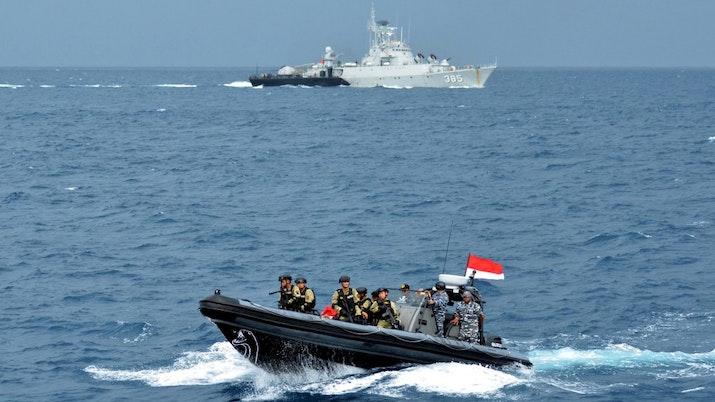 Laut Natuna, Salah Satu Bukti Kekuatan Militer RI Yang Semakin Membara