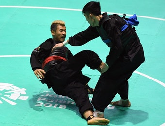 Pesilat Indonesia Adu Tangkas pada Pagelaran Asian Games 2018