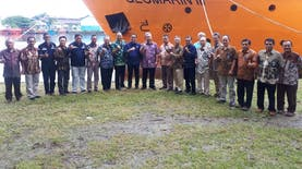 Awal Tahun 2019, BLU P3GL Selesaikan Kontrak Pemanfaatan Kapal Geomarin 3 dan Aset P3GL
