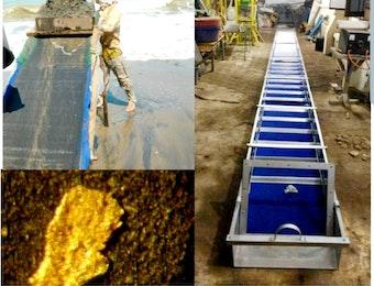 Karpet Penangkap Mineral P3GL Temukan Kandungan Emas di Perairan Banten