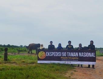 Mengawali Tahun 2017,Mahasiswa Fakultas Kehutanan UGM Berhasil Melakukan Ekspedisi Di Taman Nasional Way Kambas