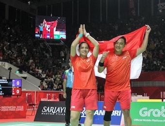 Atlet-Atlet Indonesia Raih 3 Medali Emas di Kejuaraan Dunia Para Bulutangkis 2019