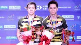 Smash Kuat Duo Minion Andalan Indonesia Mengantarkannya Mempertahankan Gelar di Hong Kong Open 2018