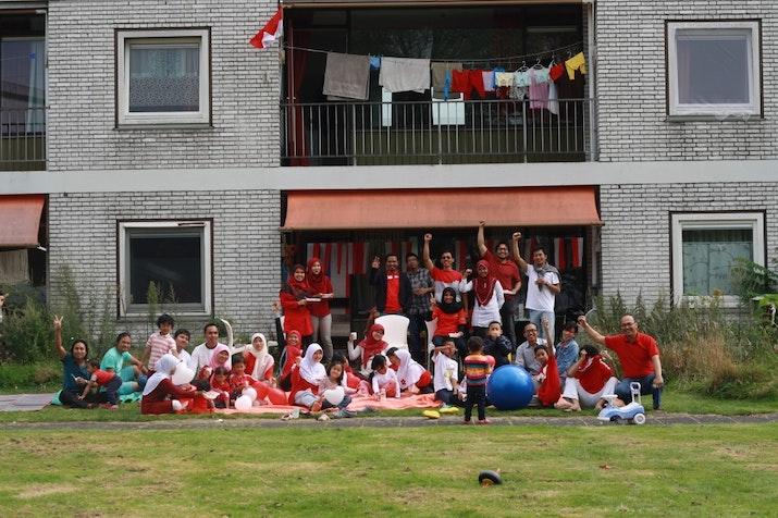 17-an di Belanda: Perayaan Sederhana Keluarga Pelajar Indonesia di Wageningen