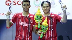 Ganda Putra Indonesia Raih Emas di Thailand Open