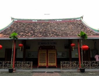 Cagar Budaya Tionghoa dalam Gereja Santa Maria de Fatima