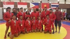 Indonesia Raih Juara Kompetisi Sambo Tingkat Asia Tenggara