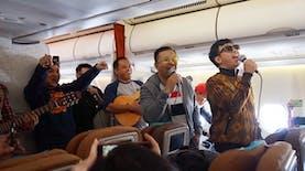 Nada-nada Bahagia di Perjalanan Udara Jakarta-YIA