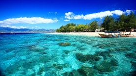 Gili Trawangan, Pulau Wisata Bebas Kendaraan Bermotor