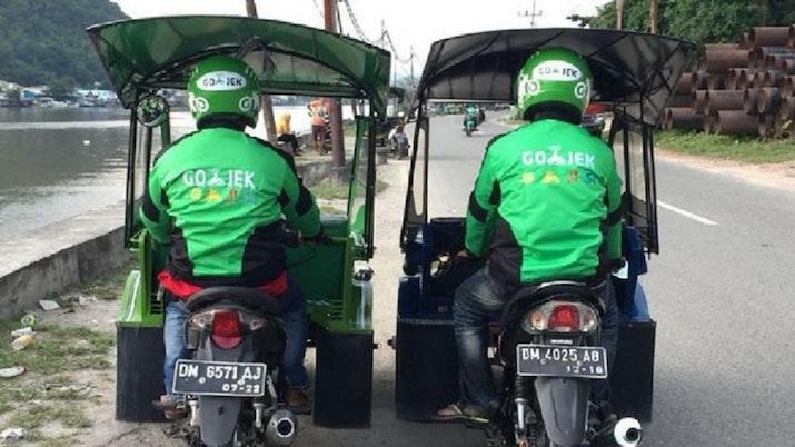 Berdayakan Transportasi Lokal, Go-Jek Gandeng Becak Motor di Gorontalo