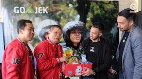 GOJEK dan JD.ID Luncurkan Paket Sembako untuk Mitra Driver