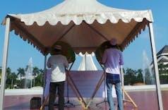 Sejarah Hari Ini (8 Agustus 2013) - Rekor Tabuhan Beduk Serentak Terlama TMII