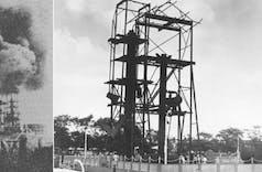 Sejarah Hari Ini (13 Agustus 1947) - Strategi Pejuang Indonesia Hadapi Belanda, Bumi Hanguskan Pangkalan Brandan