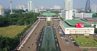 Gambar sampul Sejarah Hari Ini (8 Maret 1965) - Pembangunan Kompleks Parlemen DPR/MPR/DPD RI