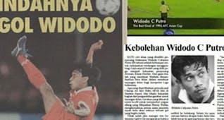 Sejarah Hari Ini (4 Desember 1996) - Gol Fantastis Widodo Cahyono Putro di Piala Asia