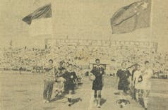 Sejarah Hari Ini (2 Juni 1957) - Indonesia Sarangkan Tiga Gol ke Gawang Cina