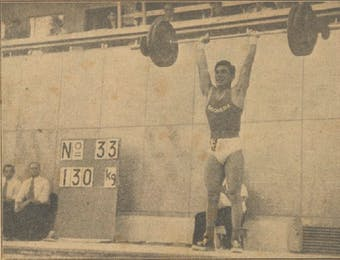 Sejarah Hari Ini (3 Agustus 1952) - Lifter Indonesia Thio Ging Hwie Unjuk Gigi di Olimpiade Helsinki