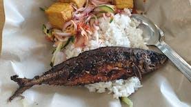Mencegah Covid-19 dengan Nasi Ikan