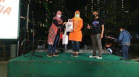 Good News From Indonesia dan Distorsi Music Luncurkan Album #LaguUntukIndonesia di Wisma Atlet