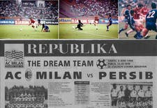 Sejarah Hari Ini (4 Juni 1994) - Persib Bandung Tantang AC Milan di Senayan