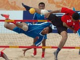 Gambar sampul Sejarah Hari Ini (24 Juni 2007) - Lapangan Sepak Takraw Pantai Terbanyak di Bengkalis