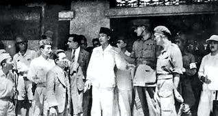 Sejarah Hari Ini (29 Oktober 1945) - Indonesia dan Inggris Sepakat Gencatan Senjata