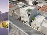 Nyempil di Tengah Pemukiman, Rumah The Twins Justru Sukses Curi Perhatian Dunia